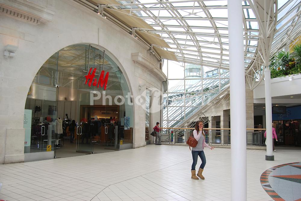 Wimbledon shopping centre SW London UK
