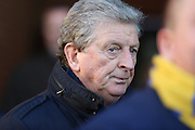 Ex England manager Roy Hodgson attending a Wimbledon game during the EFL Sky Bet League 1 match between AFC Wimbledon and Oxford United at the Cherry Red Records Stadium, Kingston, England on 14 January 2017. Photo by Matthew Redman.