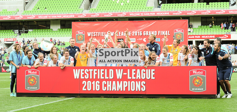 Westfield W-League 2015/16 Grand Final. Melbourne City FC Women v Sydney FC Women at Aami Park on January 31st 2016 - © Mark Avellino | SportPix.org.uk Victory to Melbourne City 4:1