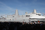 Veterans Day at Pier 88 in New York City, NY