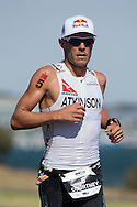 February 9, 2014 - Courtney Atkinson (AUS) Ironman Geelong 70.3. Canon 1Dx, Canon 300mm f/2.8 IS II lens, 1/1250 @ f/4  Photo By Lucas Wroe ©