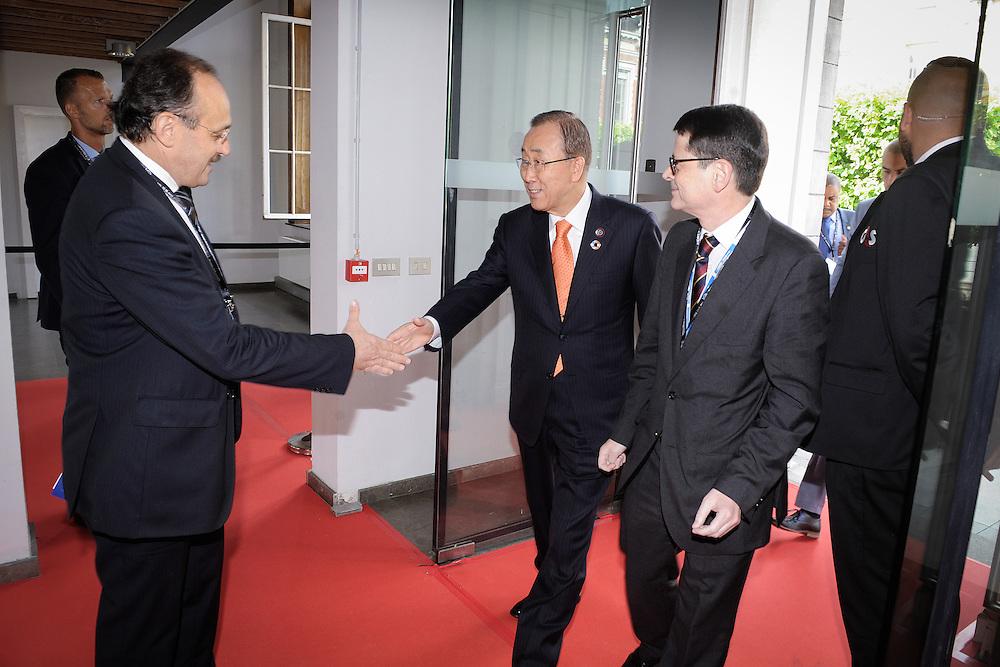 20160615 - Brussels , Belgium - 2016 June 15th - European Development Days - Arrivals - Ban Ki-Moon - Secretary General, United Nations © European Union