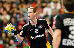 19.01.2011, Kristianstad Arena, SWE, IHF Handball Weltmeisterschaft 2011, Herren, Deutschland (GER) vs Frankreich (FRA) im Bild, // Tyskland Germany 2 Pascal Hens // during the IHF 2011 World Men's Handball Championship match  Germany (GER) vs France (FRA) at Kristianstad Arena, Sweden on 19/1/2011.  EXPA Pictures © 2011, PhotoCredit: EXPA/ Skycam/ Johansson +++++ ATTENTION - OUT OF SWEDEN/SWE +++++