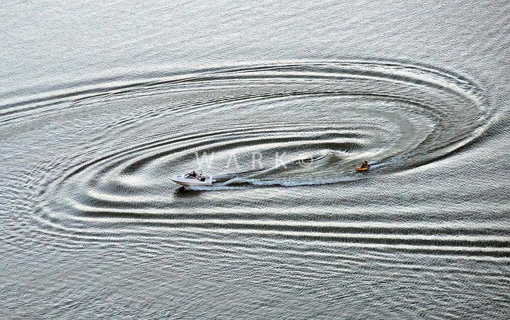 Water sports on Lake Pueblo. Aug 2013