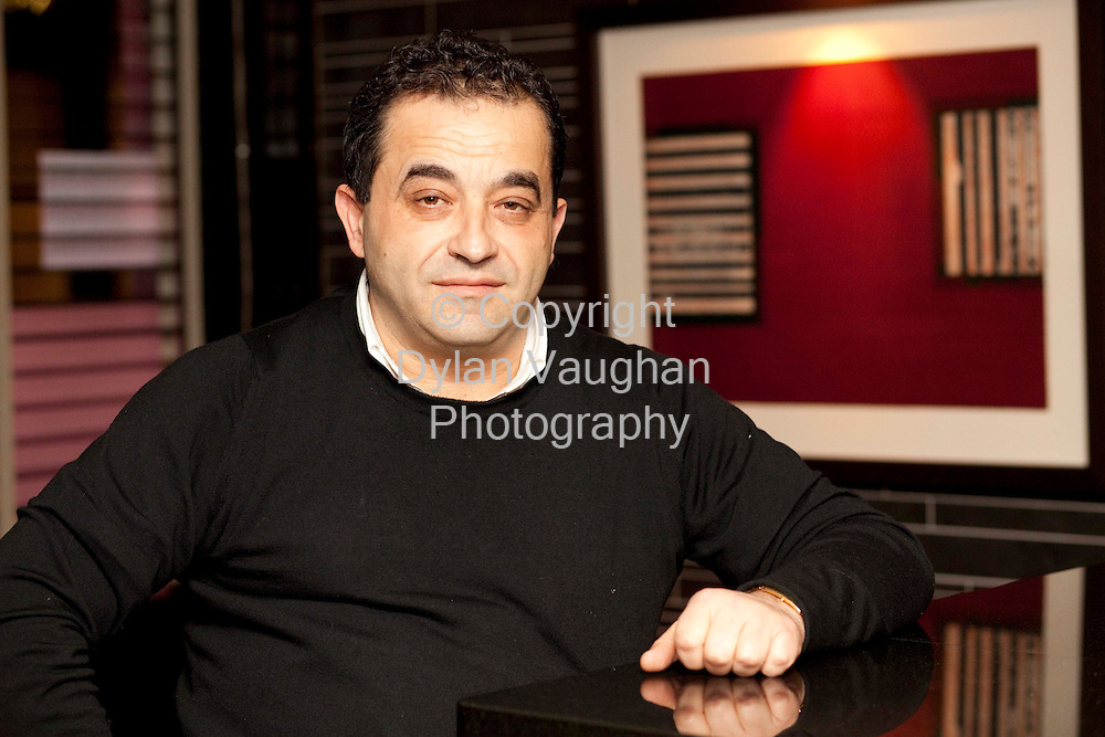 27/2/2009.Carlo Cardillo of the Italian Connection in Kilkenny..Picture Dylan Vaughan