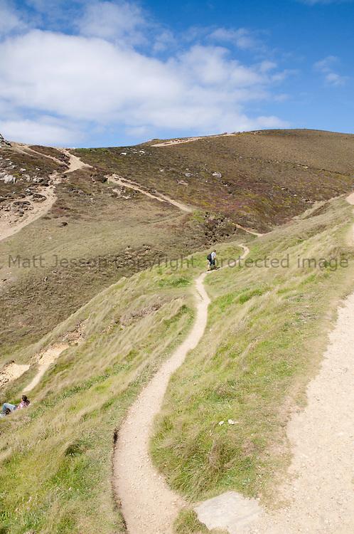 Walking the Chapel Porth Coastal Path