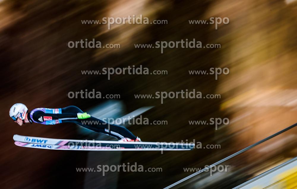 31.12.2017, Olympiaschanze, Garmisch Partenkirchen, GER, FIS Weltcup Ski Sprung, Vierschanzentournee, Garmisch Partenkirchen, Qualifikation, im Bild Andreas Stjernen (NOR) // Andreas Stjernen of Norway during his Qualification Jump for the Four Hills Tournament of FIS Ski Jumping World Cup at the Olympiaschanze in Garmisch Partenkirchen, Germany on 2017/12/31. EXPA Pictures © 2018, PhotoCredit: EXPA/ JFK
