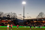 Picture by David Horn/Focus Images Ltd +44 7545 970036<br /> 25/01/2014<br /> General view of the Lamex stadium, home of Stevenage Football Club before the The FA Cup match at the Lamex Stadium, Stevenage.