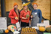 Winter Squash, Cucurbita maxima x C. moschata Showcase: 'Tetsukabuto'<br /> Researcher: Alex Stone, Oregon State University Pastry Chef: Lisa Horness, Paley's Place