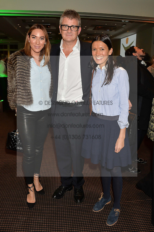 Left to right, ALEX MEYERS, JAY JOPLING and HIKARI YOKOYAMA at a film screening in aid of the charity Women for Women held at BAFTA, 195 Piccadilly, London on 26th February 2014.