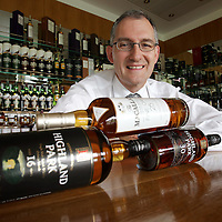Ken Grier of The Edrington Group with award winning whisky's made by Highland Distillers.<br />for further info contact Julia Hunt, Big Partnership 0131 558 3111<br />Picture by Graeme Hart.<br />Copyright Perthshire Picture Agency<br />Tel: 01738 623350  Mobile: 07990 594431