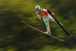 Ema Klinec during national competition in Ski Jumping, 8th of October, 2016, Kranj,  Slovenia. Photo by Grega Valancic / Sportida