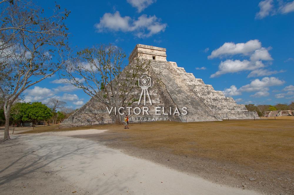 El Castillo temple at Chichen Itza.