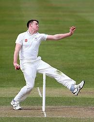 Josh Shaw of Gloucestershire bowls - Mandatory by-line: Robbie Stephenson/JMP - 01/04/2016 - CRICKET - Bristol County Ground - Bristol, United Kingdom - Gloucestershire v Durham MCC University - MCC University Match