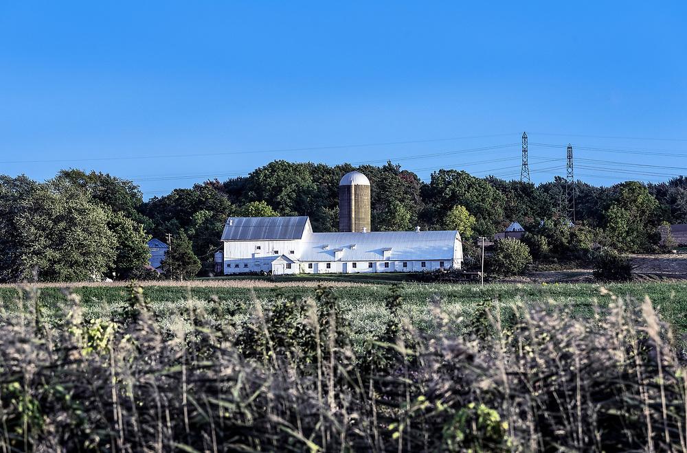 Rustic farm, Hudson, Ohio, USA.
