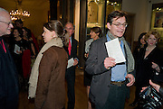 LADY SARAH CHATTO; DANIEL CHATTO, Byzantium 330-1453. Royal academy. Piccadilly. London. 21 October 2008 *** Local Caption *** -DO NOT ARCHIVE-© Copyright Photograph by Dafydd Jones. 248 Clapham Rd. London SW9 0PZ. Tel 0207 820 0771. www.dafjones.com.