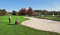 LIEREN bij Apeldoorn - Hole 16 van Golf en Businessclub  De Scherpenbergh . COPYRIGHT KOEN SUYK