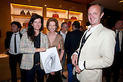 FIONA BANNER; JULIA PEYTON-JONES; JOHNNIE SHAND-KYDD, Louis Vuitton openingof New Bond Street Maison. London. 25 May 2010. -DO NOT ARCHIVE-© Copyright Photograph by Dafydd Jones. 248 Clapham Rd. London SW9 0PZ. Tel 0207 820 0771. www.dafjones.com.