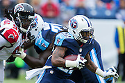 NASHVILLE, TN - OCTOBER 25:  Dexter McCluster #22 of the Tennessee Titans runs the ball against the Atlanta Falcons at Nissan Stadium on October 25, 2015 in Nashville, Tennessee.  The Falcons defeated the Titans 10-7.  (Photo by Wesley Hitt/Getty Images) *** Local Caption *** Dexter McCluster