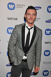 LUKE EVANS at the Warner Music Group Post Brit Awards Party in Association with Samsung held at The Savoy, London on 20th February 2013.