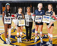 FIU Indoor Volleyball Senior Day 2013