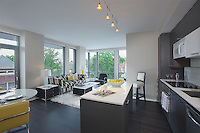 Interior Design image of District Apartments in Washington DC by Jeffrey Sauers of Commerial Photographics