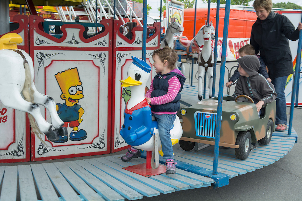 Amusements in the sideshows at the Canterbury A&P Show, Christchurch, New Zealand, November 11, 2015. Credit: SNPA /  David Alexander.