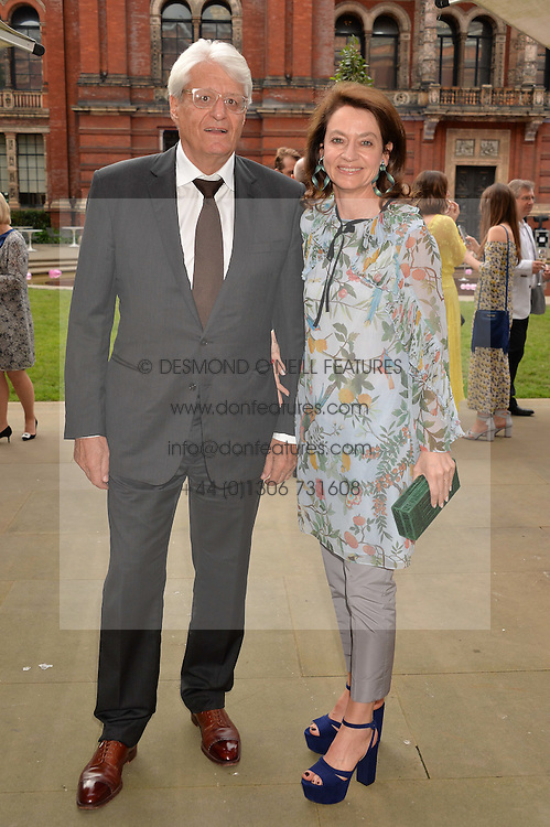 GERT-RUDOLPH & CORINNE FLICK at the V&A Summer Party in association with Harrod's held at The V&A Museum, London on 22nd June 2016.