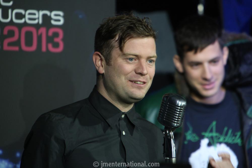 The Music Producers Guild Awards 2013. Café De Paris, London. Thursday, Feb. 7, 2013 (John Marshall JME)
