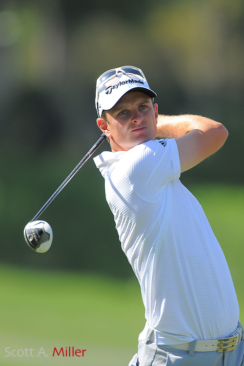 Justin Rose during the first round of the Arnold Plamer Invitational at the Bay Hill Club and Lodge on March 22, 2012 in Orlando, Fla. ..©2012 Scott A. Miller.