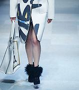 Daegu, South Korea. 7th March 2014. A model presents a creation by South Korean designer CHOIBOKO during the 26th Daegu Collection, Daegu, South Korea, on Friday March 7, 2014. ©Lee Jae-Won
