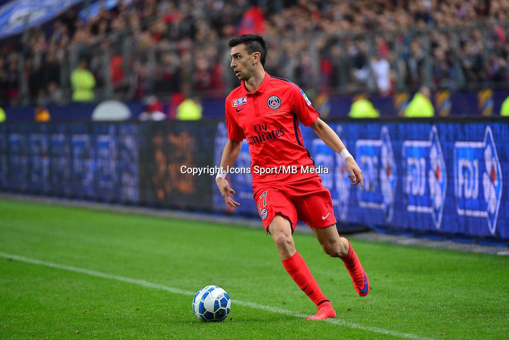 Javier PASTORE    - 11.04.2015 -  Bastia / PSG - Finale de la Coupe de la Ligue 2015<br />Photo : Dave Winter / Icon Sport