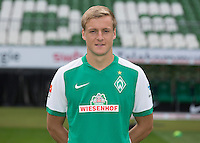 German Soccer Bundesliga 2015/16 - Photocall of Werder Bremen on 10 July 2015 in Bremen, Germany: Felix Kroos