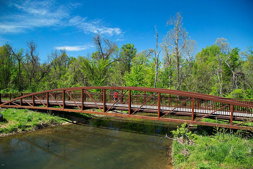 Lake Fayetteville Greenway in Fayetteville, Arkansas<br /> <br /> &copy;Wesley Hitt 2015