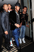 10.MAR.2011 LONDON<br /> <br /> JB, MARVIN, ORITSE AND ASTON OF BOYBAND JLS LEAVING THEIR LONDON HOTEL.<br /> <br /> BYLINE: EDBIMAGEARCHIVE.COM<br /> <br /> *THIS IMAGE IS STRICTLY FOR UK NEWSPAPERS AND MAGAZINES ONLY*<br /> *FOR WORLD WIDE SALES AND WEB USE PLEASE CONTACT EDBIMAGEARCHIVE - 0208 954 5968*