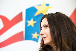 26.02.2019, FPÖ-Medienzentrum, Wien, AUT, FPÖ, Pressekonferenz mit Präsentation der Kandidatenliste zur EU-Wahl. im Bild Nationalratsabgeordnete FPÖ Petra Steger // Member of the National Council FPOe Petra Steger during media conference of the Austrian Freedom Party a presentation of the canidates for EU elections in Vienna, Austria on 2019/02/26. EXPA Pictures © 2019 PhotoCredit: EXPA/ Michael Gruber