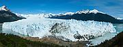 View of the Perito Moreno Glacier, Los Glaciares National Park, near El Calafate, Santa Cruz Province, Argentina.