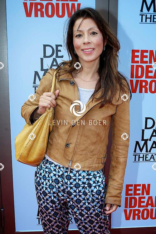 AMSTERDAM - In het DeLaMar Theater is de premiere van een Nederlands toneelstuk 'Een Ideale Vrouw' een komedie over liefde. Met op de foto  Nadja Hüpscher. FOTO LEVIN DEN BOER - PERSFOTO.NU