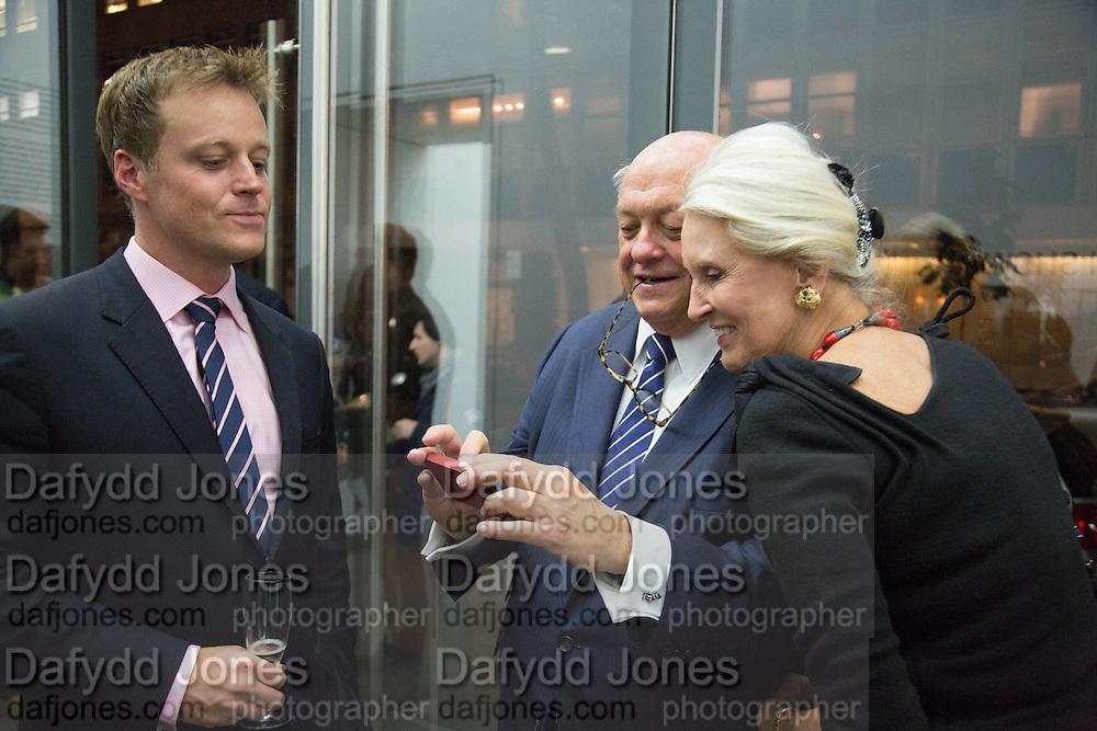 ERIC JOHNSON; MICHAEL WARD STOUT;  BILLIE BUCKLEY, Fashion Show: Robert Mapplethorpe. Alison Jacques Gallery. Berners St. London. 10 September 2013