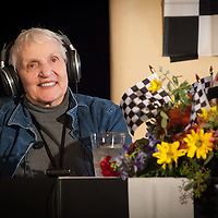 Denise McCluggage, Legends of Racing lecture at the Las Campanas Clubhouse, 2013 Santa Fe Concorso.