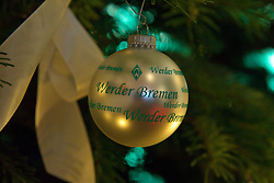 12.12.2010, Hudson, Bremen, GER, Weihnachtsfeier Werder Bremen, im Bild Werder Bremen Weihnachtskugel    EXPA Pictures © 2010, PhotoCredit: EXPA/ nph/  Kokenge       ****** out ouf GER ******