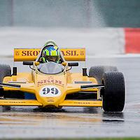 #99, Fittipaldi F8 (1981), Gavin Pickering (GB), Silverstone Classic 2015, FIA Masters Historic Formula One. 24.07.2015. Silverstone, England, U.K.  Silverstone Classic 2015.