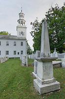 Old First Church cemetery , or First Congregational Church of Bennington