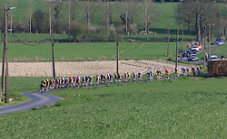 The main chase group on Elsstraat during the 2019 E3 Harelbeke Binck Bank Classic 2019 running 203.9km from Harelbeke to Harelbeke, Belgium. 29th March 2019.<br /> Picture: Eoin Clarke | Cyclefile<br /> <br /> All photos usage must carry mandatory copyright credit (© Cyclefile | Eoin Clarke)