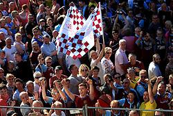Burnley fans gather outside the Town Hall - Mandatory by-line: Matt McNulty/JMP - 09/05/2016 - FOOTBALL - Burnley Town Hall - Burnley, England - Burnley FC Championship Trophy Presentation