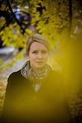 Schriftstellerin Katharina Hartwell in Prag. Kommerzielle Nutzung NUR fuer das Literaturhaus Prag !!!