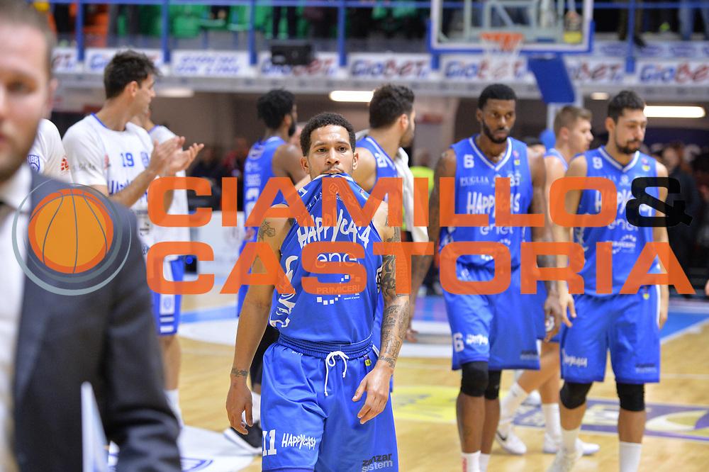 Nic Moore<br /> Happycasa Basket Brindisi - Dolomiti Energia Trento<br /> Legabasket A 2017-2018<br /> Brindisi10 /12/2017<br /> Foto Ciamillo-Castoria/ M.Longo