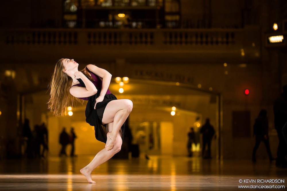 Dance As Art The New York Photography Project Grand Central Series with Valentina Sytcheva