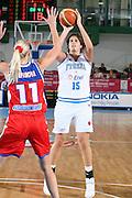 DESCRIZIONE : Chieti Italy Italia Eurobasket Women 2007 Italia Russia Italy Russia<br /> GIOCATORE : Dubravka Dacic<br /> SQUADRA : Italia Italy<br /> EVENTO : Eurobasket Women 2007 Campionati Europei Donne 2007<br /> GARA : Italia Russia Italy Russia<br /> DATA : 24/09/2007<br /> CATEGORIA : Tiro<br /> SPORT : Pallacanestro<br /> AUTORE : Agenzia Ciamillo-Castoria/E.Castoria<br /> Galleria : Eurobasket Women 2007<br /> Fotonotizia : Chieti Italy Italia Eurobasket Women 2007 Italia Russia Italy Russia<br /> Predefinita :