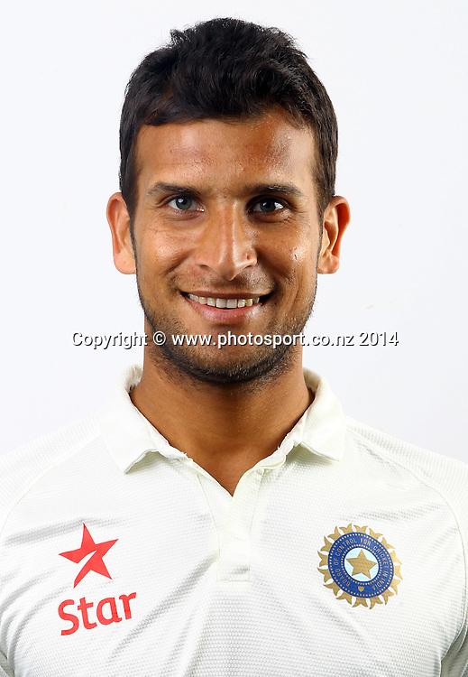 Ishwar Pandey - India Test Cricket Team Headshots, Eden Park, Auckland, New Zealand. Photo: William Booth/www.photosport.co.nz
